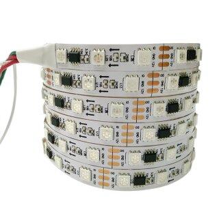 WS2811 RGB LED Lichtband - 60 Leds/Meter - DC12V - 4 Meter IP20