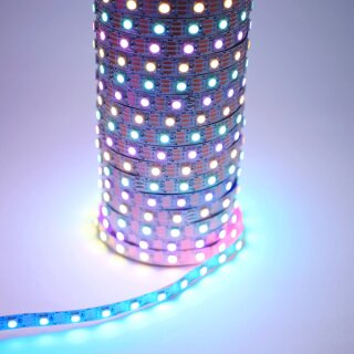 WS2812b RGB LED Strip - 60 Leds/Meter - DC5V - IP65