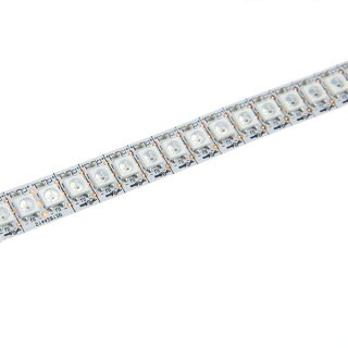 WS2812b RGB LED Strip - 144 Leds/Meter - DC5V - IP20