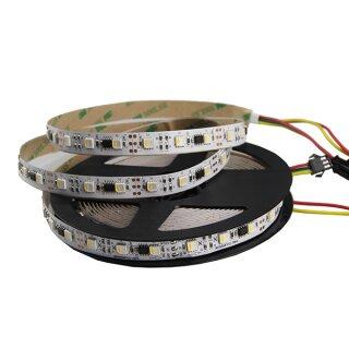 Addressable RGBW Led Flex Strip - 60 Leds/Meter - DC12V - 4 Meter Typ USC2904 - WS2812b Kompatibel IP20