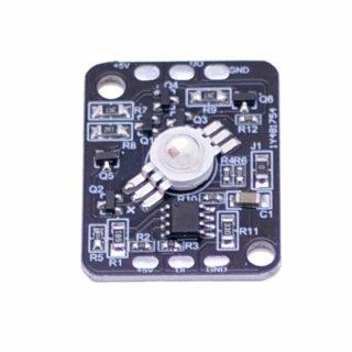 High Power RGB LED - 1 Led - DC5V - 32 x 25 mm Typ WS2811 IC Adressierbar