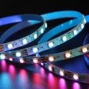 RGB LED Lichtstreifen Knickbar 5VDC - 5 Meter - Typ SK6812 digital addressable