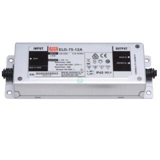 Mean Well ELG-75-12A Netzteil LED-Trafo IP65 Konstantspannung 60Watt 12VDC