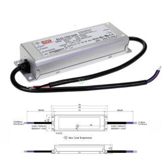 Mean Well ELG-240-24A Netzteil LED-Trafo IP65 Konstantspannung 240 Watt 24 VDC